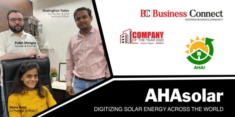 AHAsolar: Digitizing Solar Energy across the world