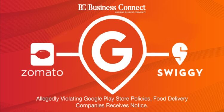ALLEGEDLY VIOLATING GOOGLE PLAY STORE POLICIES, - Business Connect
