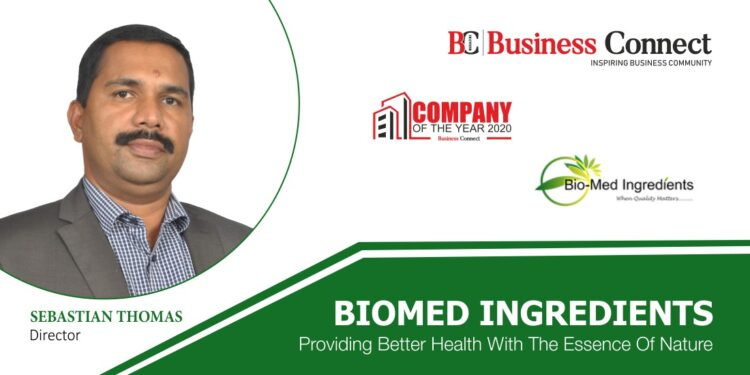 BIOMEDINGREDIENTS : PROVIDING BETTER HEALTH WITH THE ESSENCE OF NATURE