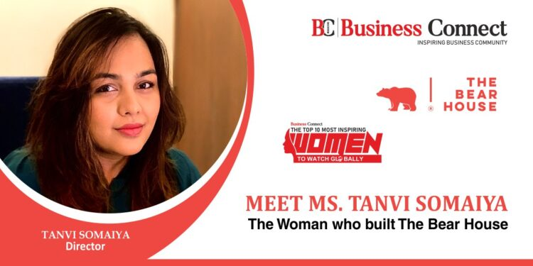 Ms Tanvi Somaiya: The Woman who built The Bear House