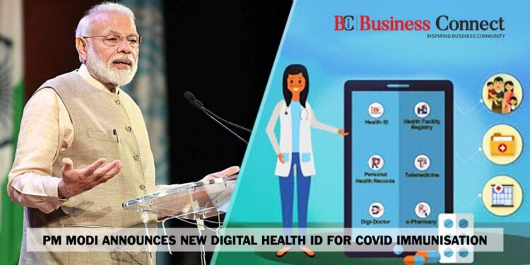 PM Modi Announces New Digital Health ID For COVID Immunisation