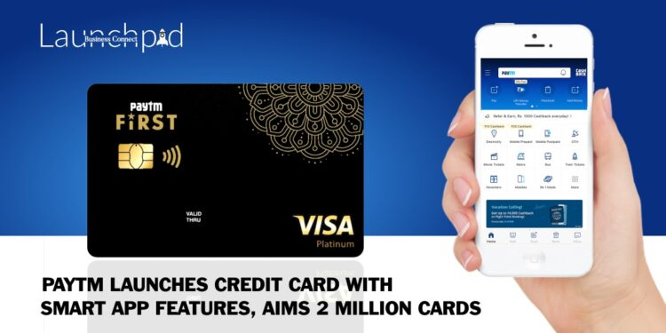 Paytm-Launches-Credit-Card-With-Smart App-Features