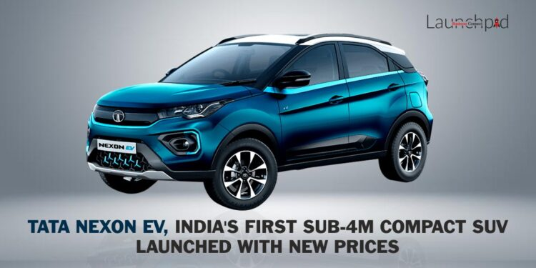 Tata Nexon EV, India's First Sub-4M Compact SUV Launched With New Prices