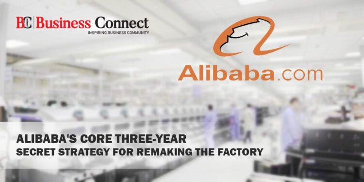 Alibaba Core Three Year Strategy