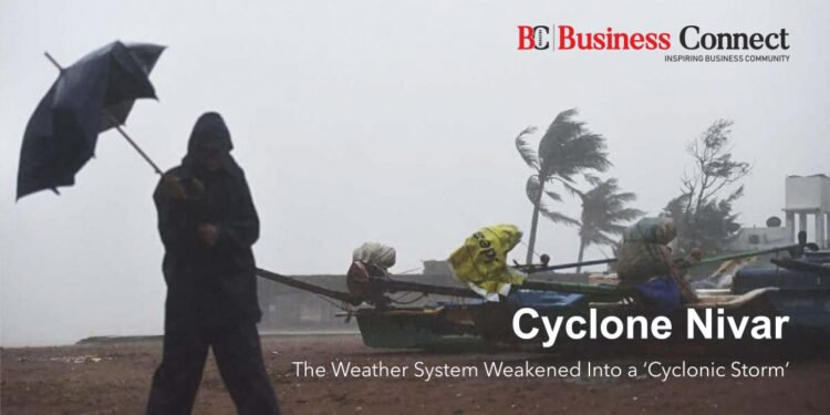 Cyclone Nivar The Weather System Weakened Into a 'Cyclonic Storm