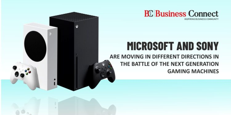 Microsoft and Sony are moving in Different Directions in the Battle of the Next Generation Gaming Machines