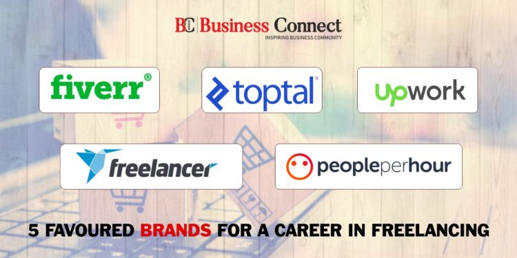 5 favoured Brands for a career in freelancing
