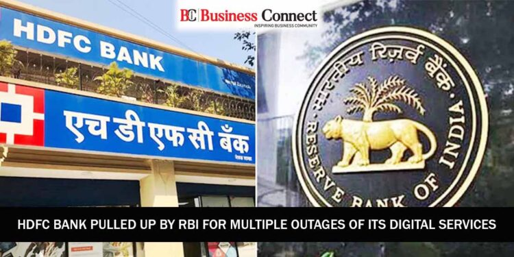 HDFC Bank Pulled Up by RBI for Multiple Outages of its Digital banking