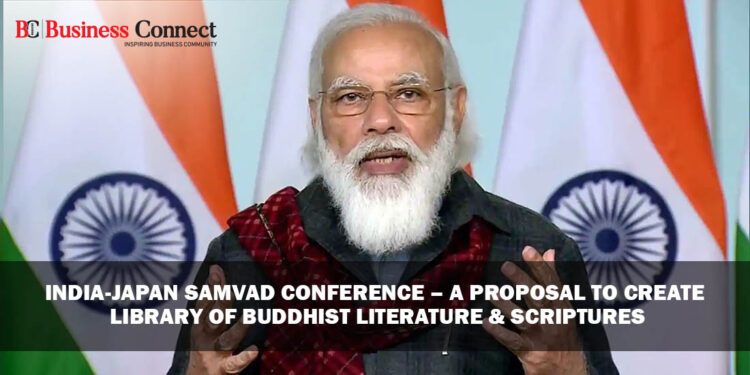 India-Japan Samvad Conference – A Proposal to Create Library of Buddhist Literature & Scriptures