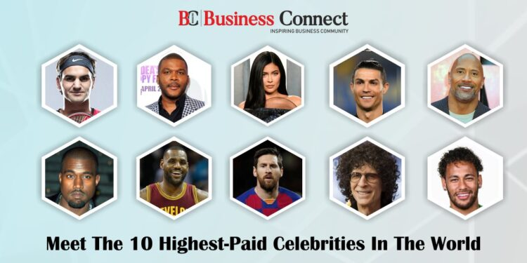 Meet The 10 Highest Paid Celebrities In The World