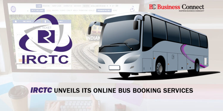 IRCTC Unveils Its Online Bus Booking Services