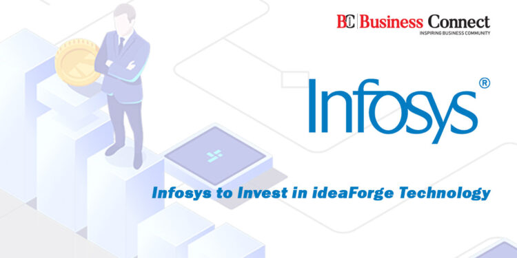 Infosys to Invest in ideaForge Technology
