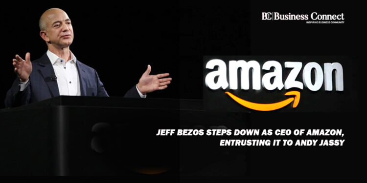 Jeff Bezos steps down as CEO of Amazon, entrusting it to Andy Jassy