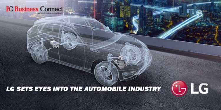 LG Sets Eyes into the Automobile Industry