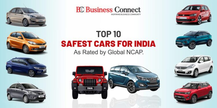Top 10 Safest Cars for India As Rated by Global NCAP