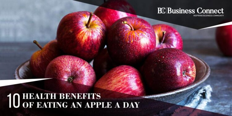 10 Health Benefits Of Eating An Apple