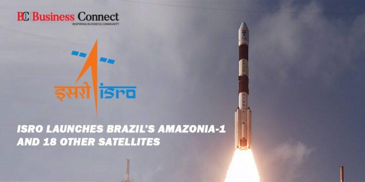 ISRO Launches Brazil's Amazonia-1 and 18 other Satellites
