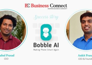 """Success story of Two Brothers Ankit Prasad and Rahul Prasad, CEO and Founder of """"Bobble AI"""""""