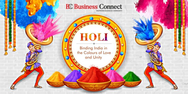 Holi – Binding India in the Colours of Love and Unity