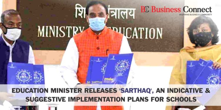 Education Minister Releases 'SARTHAQ', an Indicative & Suggestive Implementation Plans for Schools.