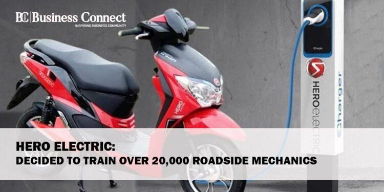 Hero Electric: decided to train over 20,000 roadside mechanics