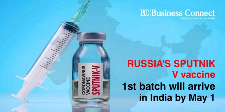 Russia's Sputnik V vaccine 1st batch will arrive in India by May 1