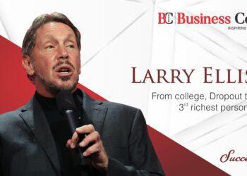 Success story of Larry Ellison