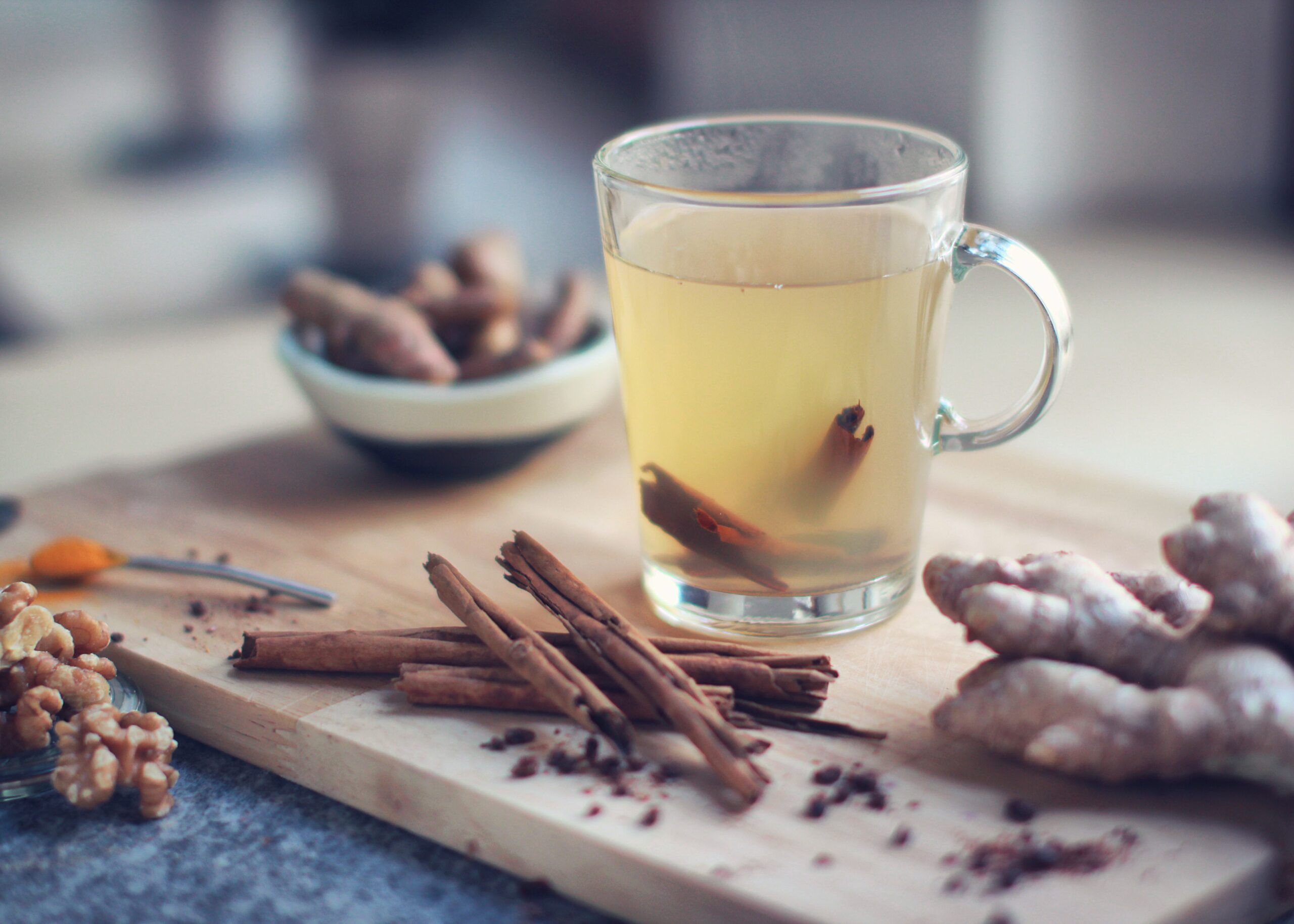 Ginger tea | 9 Perfect Morning Drinks for Healthy Skin and Hair