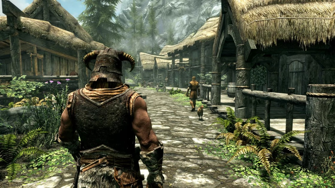 THE ELDER SCROLLS V   Top 10 pc games in the world 2021  