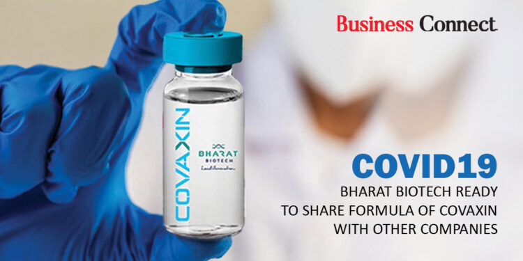Covid19: Bharat Biotech ready to share formula of COVAXIN with other Companies
