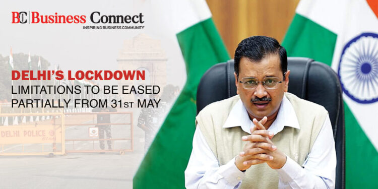 Delhi's Lockdown Limitations To Be Eased Partially From 31st May