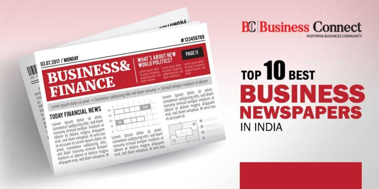Top 10 Best Business Newspapers in India in 2021