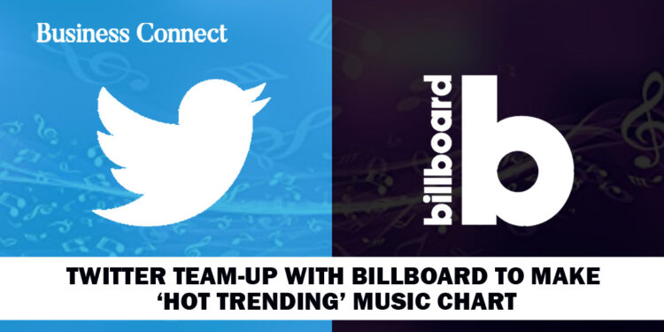 Twitter Team up with Billboard to Make 'Hot Trending' Music Chart