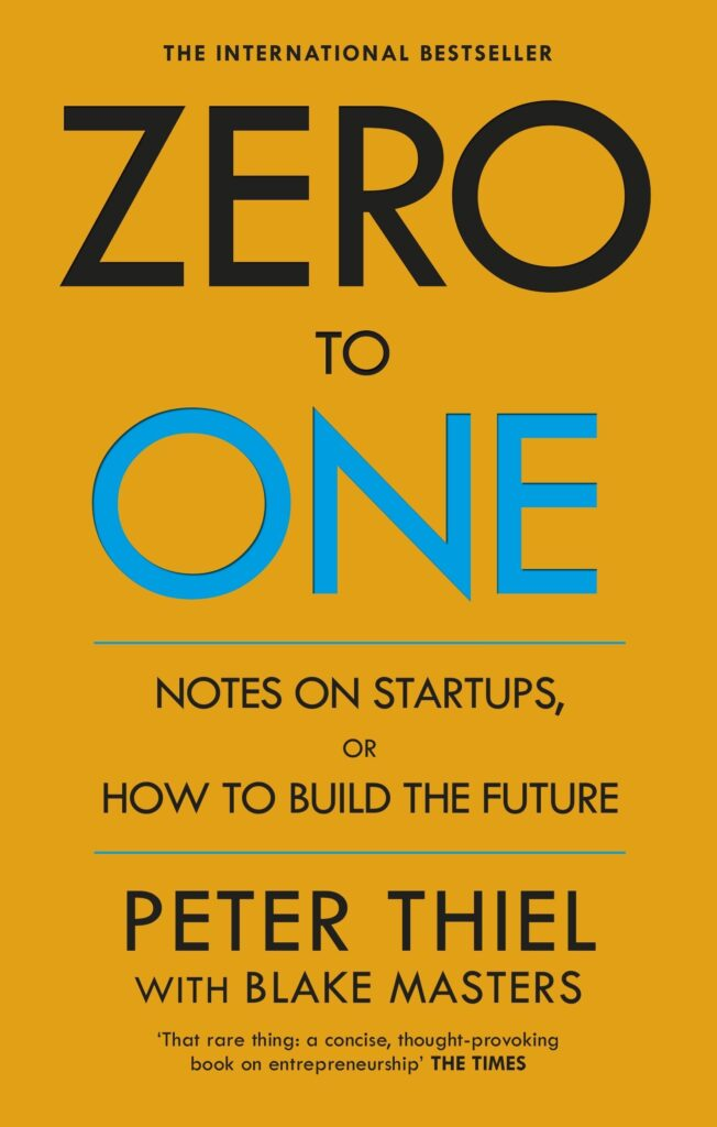Zero to One  | Top 10 Best Books for Starting a Business in 2021