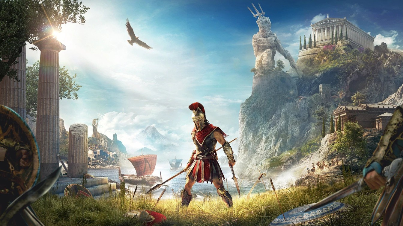 ASSASSIN'S CREED ODYSSEY   Top 10 pc games in the world 2021   Image Credit: Ubisoft
