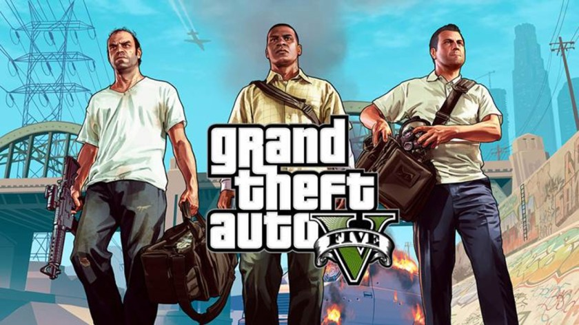 GRAND THEFT AUTO V   Top 10 pc games in the world 2021