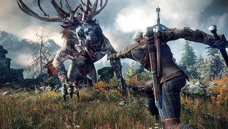 THE WITCHER 3   Top 10 pc games in the world 2021