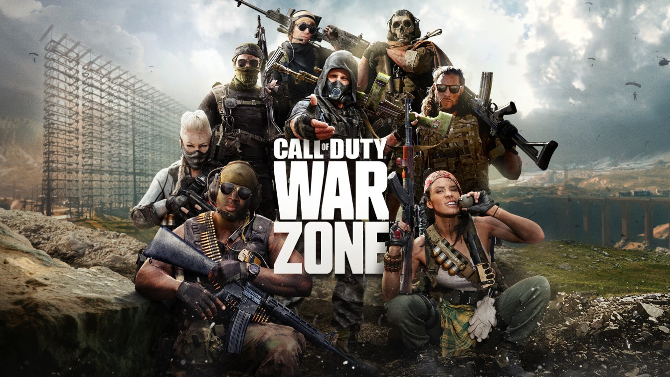 CALL OF DUTY WARZONE   Top 10 pc games in the world 2021