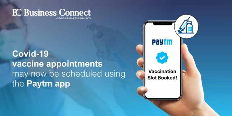 Covid-19 vaccine appointments may now be scheduled using the Paytm app