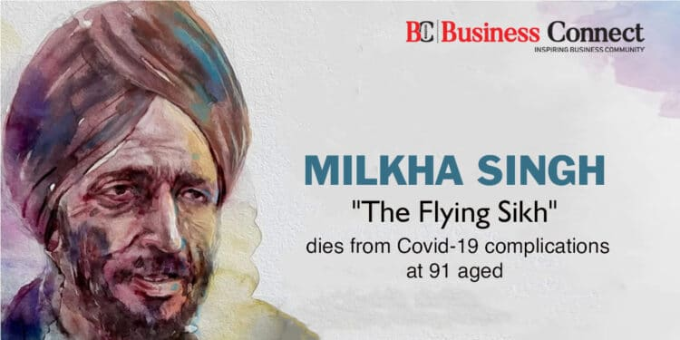 """Milkha Singh """"The Flying Sikh"""" dies from Covid-19 complications at 91 aged"""