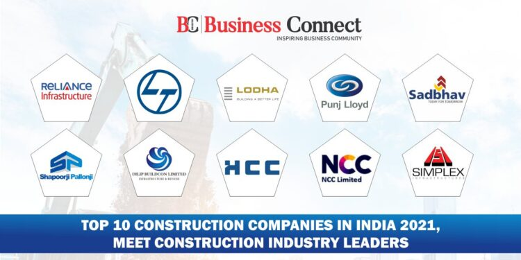 Top 10 construction companies in India 2021, meet construction industry leaders