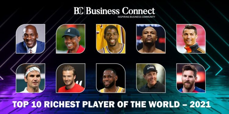 Top 10 richest player of the world 2021 & their Earnings