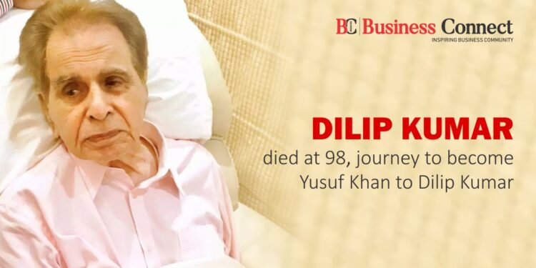 Dilip Kumar died at 98, journey to become Yusuf Khan to Dilip Kumar