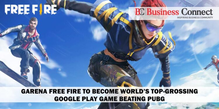 Garena Free Fire to become world's top-grossing Google Play game beating PUBG