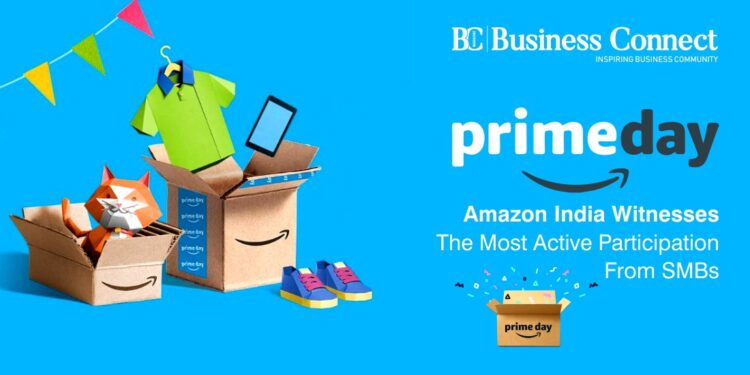 Prime Day Amazon India Witnesses The Most Active Participation From SMBs