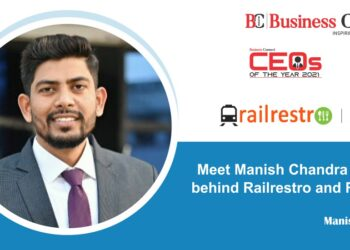 Meet Manish Chandra the Man behind Railrestro and RailMitra