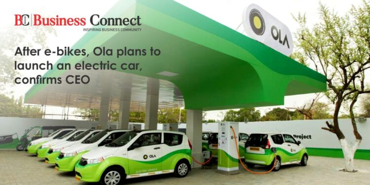 After e-bikes, Ola plans to launch an electric car, confirms CEO