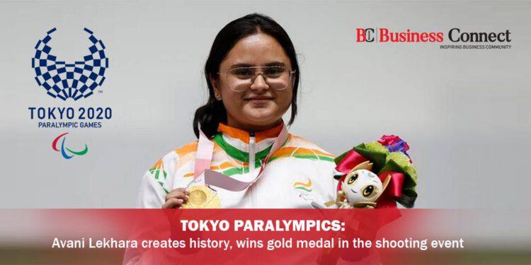 Tokyo Paralympics : Avani Lekhara creates history, wins gold medal in the shooting event
