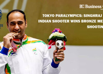 Tokyo Paralympics: Singhraj Adhana Indian shooter wins bronze medal in a shooting event