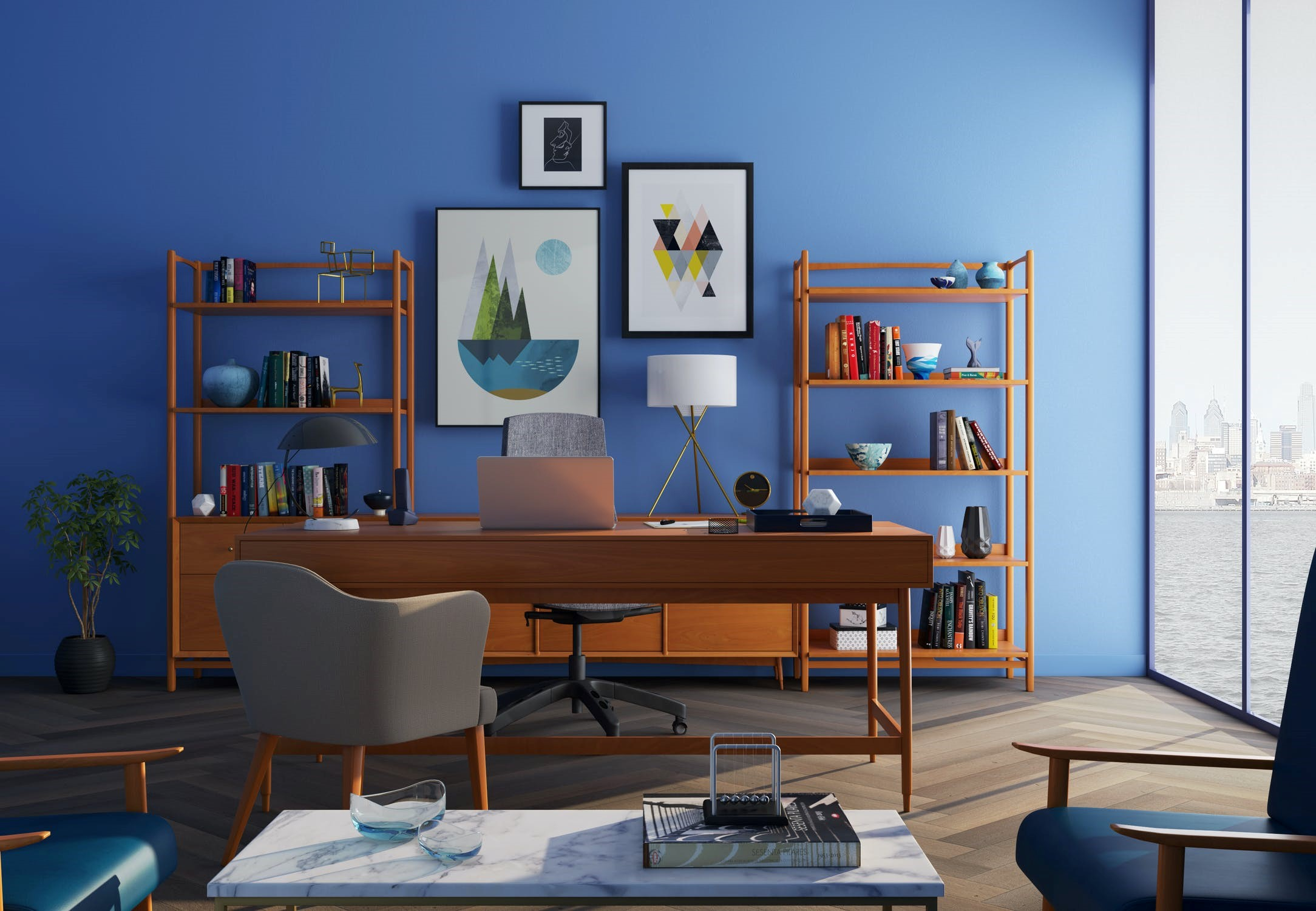 10 Budget-Friendly Options for Styling Your Rental Property | Decorate the Walls with Artwork